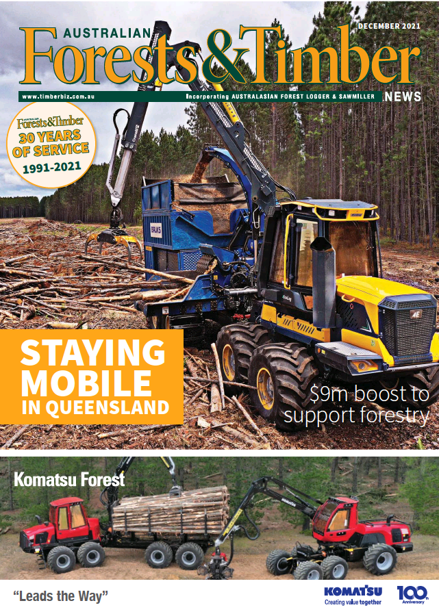 Australian Forests & Timber News cover